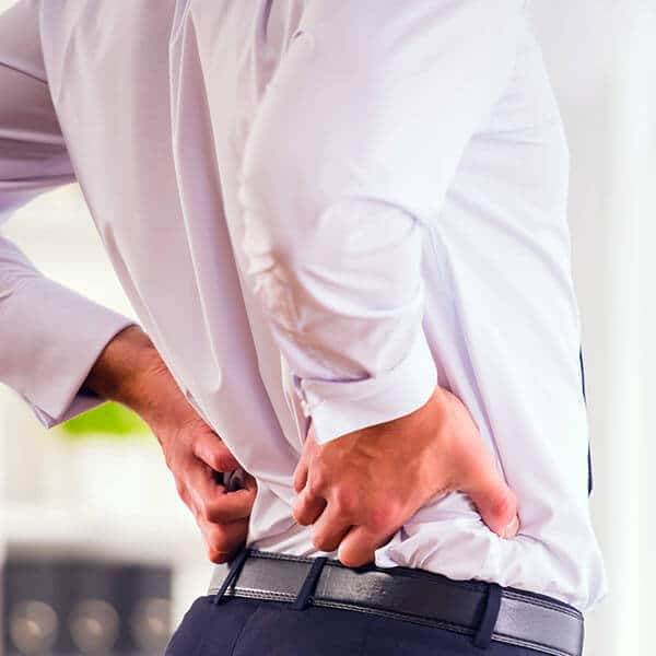 Relief from Back Pain Success