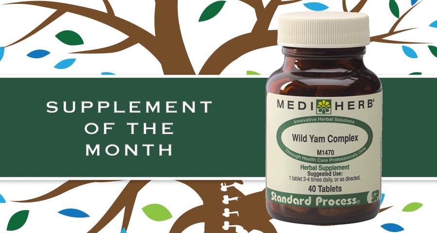 Supplement of Month: MediHerb Wild Yam Complex
