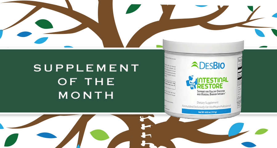 Supplement of Month: DesBio's Intestinal Restore