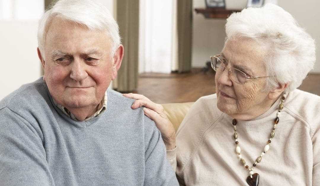 elderly couple concerned about peripheral neuropathy